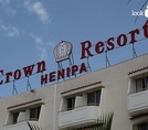 Вывеска Crown Resorts Henipa 3*