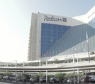 Здание отеля Radisson Blu Resort Sharjah 5*